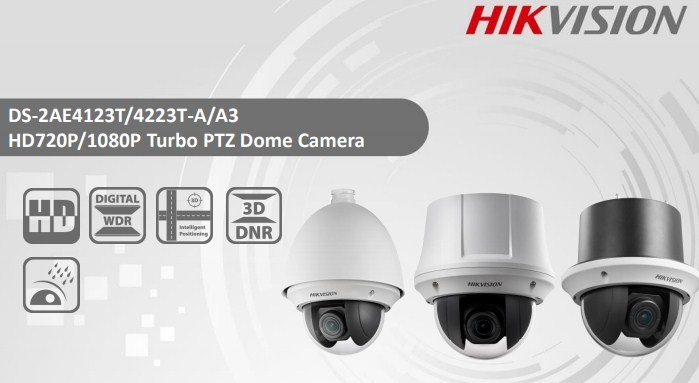 2MP DS-2AE4223T-A3 Hikvision 23x Zoom IP Turbo PTZ Dome Camera
