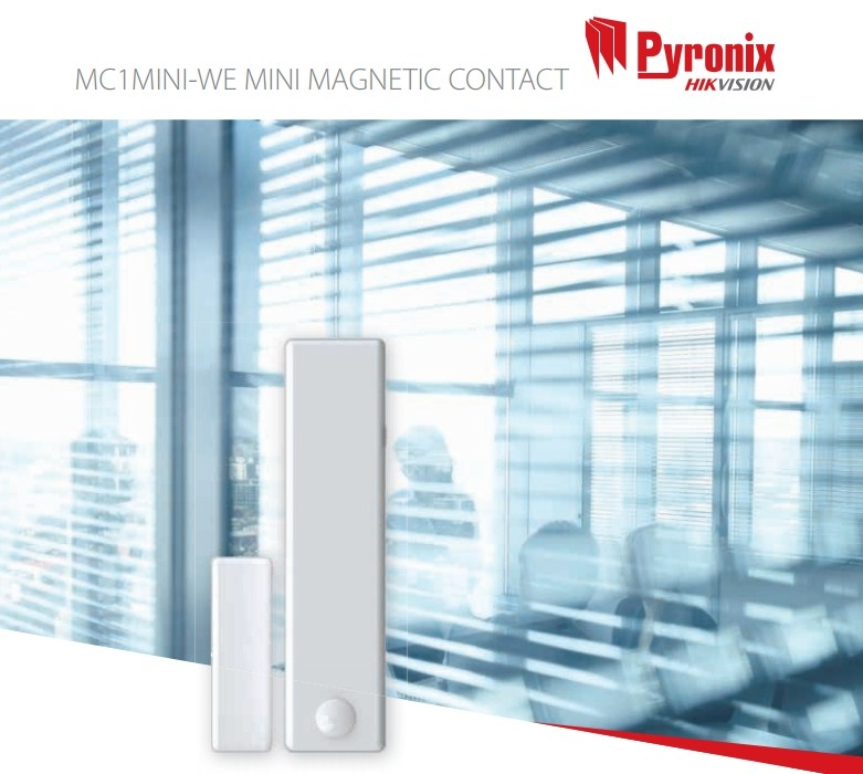 Pyronix MC1MINI-WE Mini Wireless Enforcer Magnetic Contact WHITE
