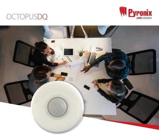Pyronix OCTOPUSDQ Quad 12M PIR Digital Ceiling Mount Detector