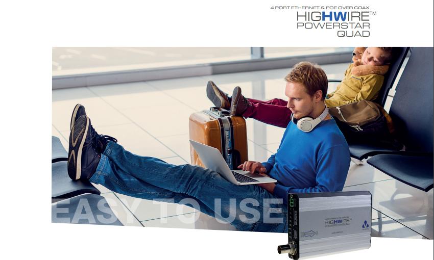 Veracity VHW-HWPS-C4 HIGHWIRE Powerstar Quad