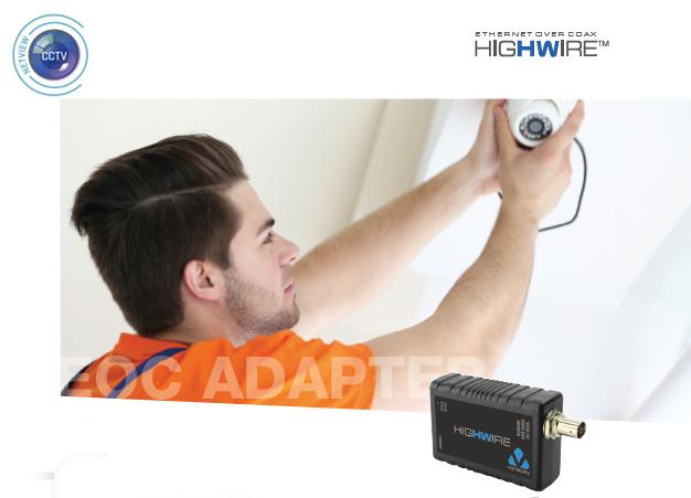 Veracity VHW-HW HIGHWIRE IP over Coax Converter