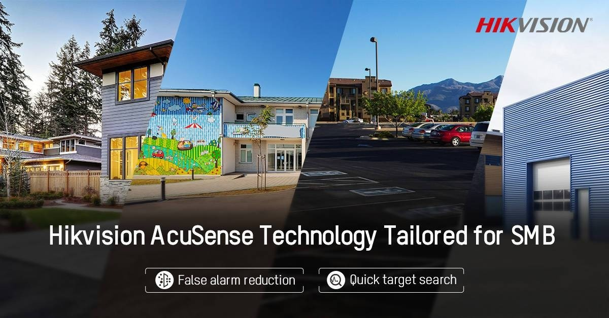 AcuSense sophisticated surveillance and deep learning solutions for SMBs