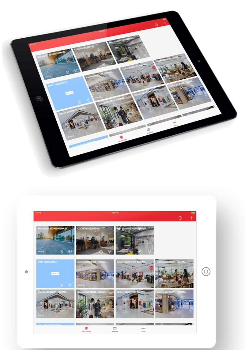 Hik-Connect version 3.5.2 released with New Design for Tablets