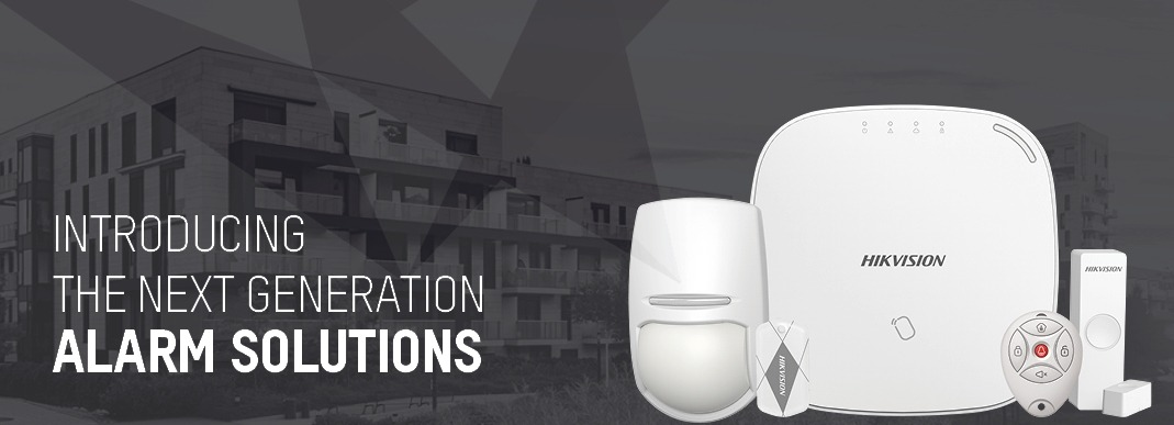 Hikvision introduces the latest innovation in intruder alarm systems - the AXHub