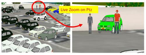 Plan efficient use of PTZ cameras