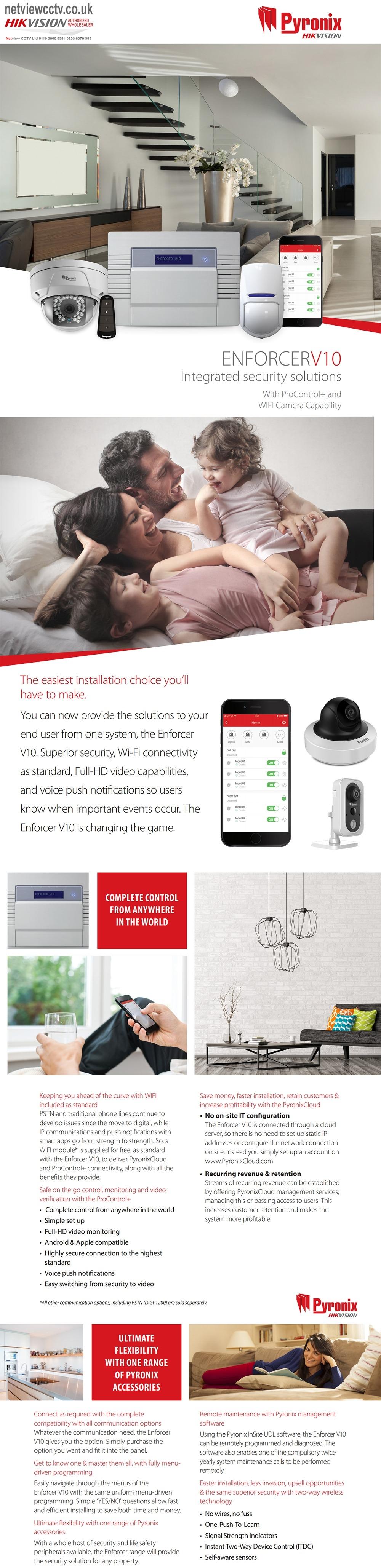 Pyronix Enforcer Wireless Solutions Brochure